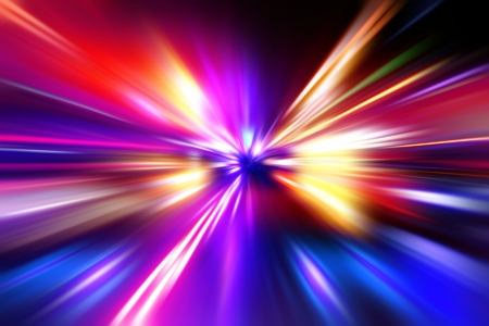 colorful  radial radiant effect Stock Photo - 16234525