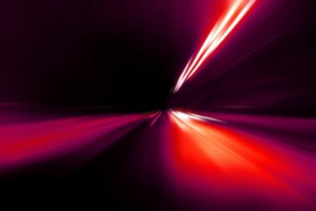 speed motion on night road Stock Photo - 18880062