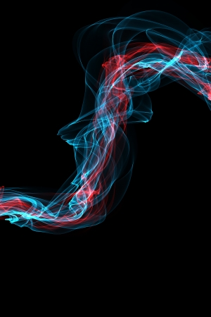 variegated: abstract smoke waves