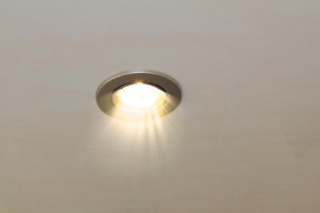 sálavé stropní bodové svítidlo Reklamní fotografie