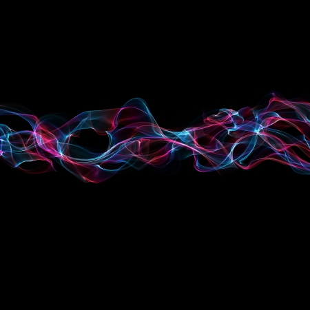 medley: abstract colorful smoke waves