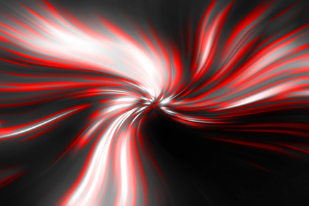 abstract red vortex on a black background photo