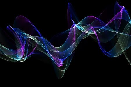 medley: original abstract blue design template