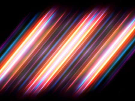 radiant: colorful abstract radiant neon series