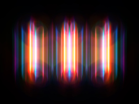 range of motion: colorful abstract radiant neon series