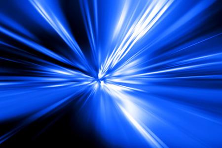 acceleration speed motion on night road Stock fotó