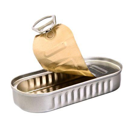 sardine can: Sardine tin can