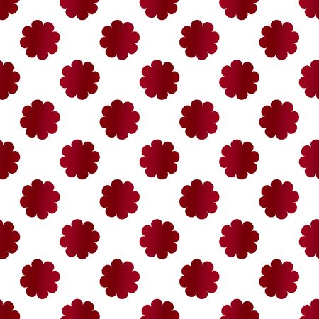 abstract floral pattern. Modern vector graphic. white background. Geometric leaf ornament Ilustração