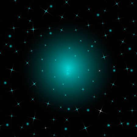 Geometric star pattern.  イラスト・ベクター素材