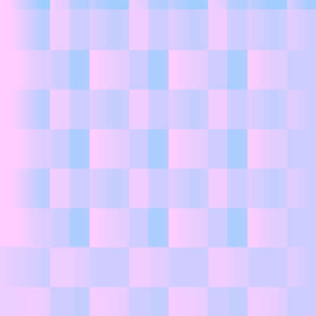 Geometric graphic abstract pastel gradient squares patterns. Delicate simple background for wrapping or wrapping paper.