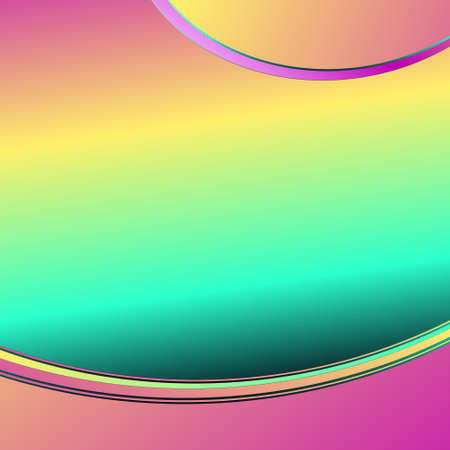 Abstract pink waves background. Dynamic background. vector