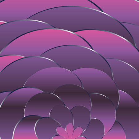 Abstract pink waves background. Dynamic background. vector Stock fotó - 157605537