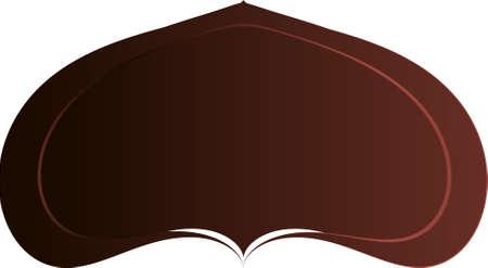Minimal geometric background. Gradient shapes composition. Eps10 vector. Illusztráció