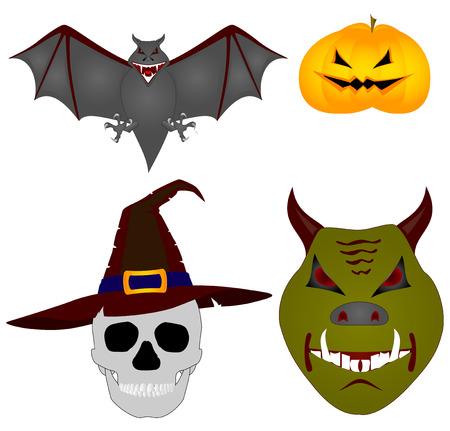 imagenes vectoriales: Halloween. Vector im�genes