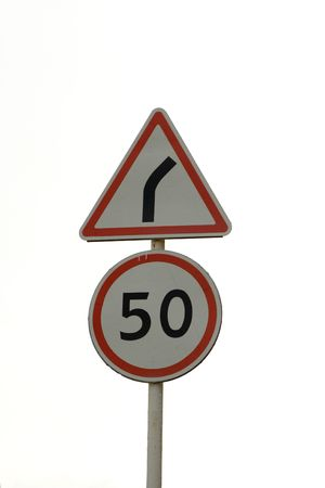 Traffic sign photo