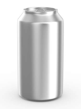 Can on white background. Isolated 3D image Stock Photo - 5873355
