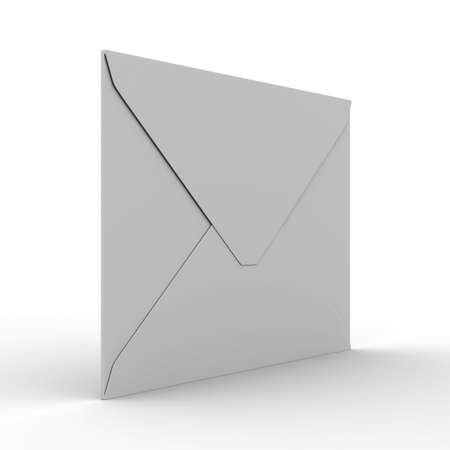 E-mail concept on white background. Isolated 3D image Stock Photo - 7269417