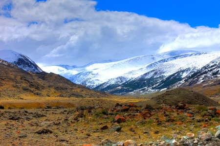 the altai mountains: Altai mountains. Beautiful highland landscape. Russia. Siberia