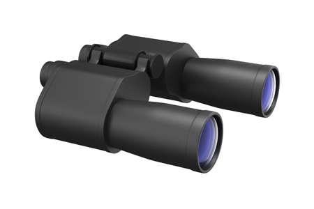 binocular on white background. Isolated 3d image Stock Photo - 9297609