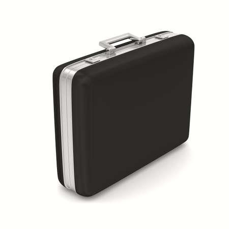 Case sur fond blanc. isolé image 3D Banque d'images - 12379986
