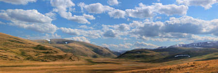 Altai mountains. Beautiful highland landscape. Russia. Siberia photo