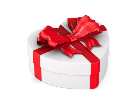 gift box on white background. Isolated 3D illustration 版權商用圖片