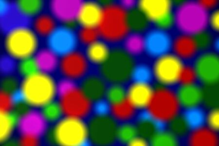 Abstract defocused background. 3D Illustration Stockfoto