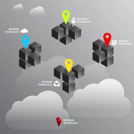hight tech: GPS concept Illustration