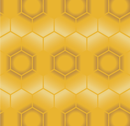 beeswax: Seamless pattern of Honeycomb