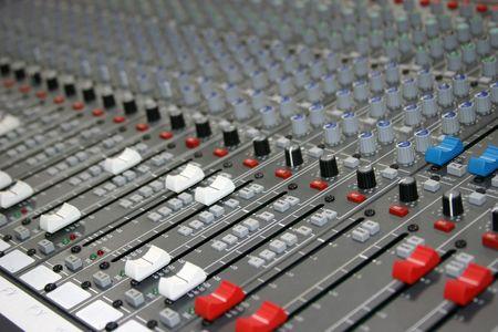 Controls of a sound board