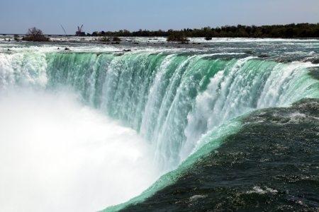 The view of the Horseshoe Falls  Niagara Falls, Ontario, Canada photo