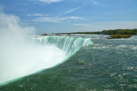 The view of the Horseshoe Falls. Niagara Falls, Ontario, Canada photo