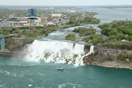The view of the Falls, Niagara Falls, Ontario, Canada photo