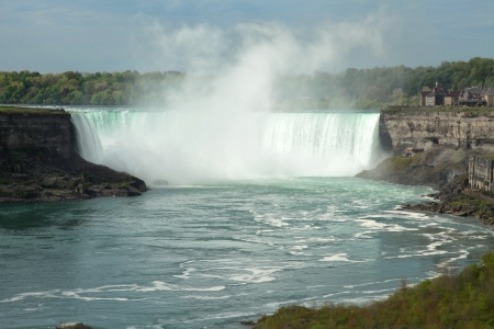 The vie of the Horseshoe Falls  Niagara Falls, Ontario, Canada photo
