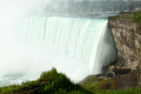 The view of the Horse Shoe Falls  Naiagara Falls, Ontario, Canada Stock fotó