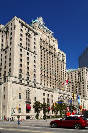 Fairmont Hotel, Toronto - the tallest building in 30s
