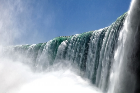 The view of the Horseshoe Fall, Niagara Falls, Ontario, Canada photo