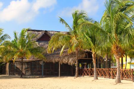 Beach restaurant in Cayo Coco
