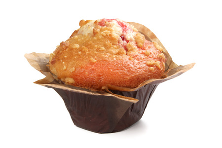 shallow  focus: Strawberry muffin, shallow focus