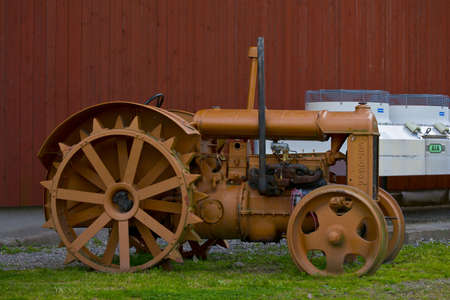 old preserved tractor