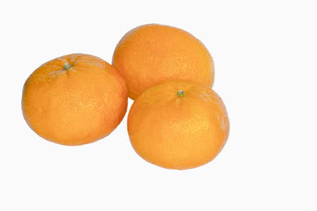 Clementine isolated on white Stock Photo