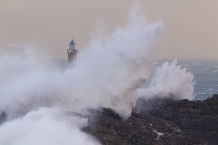 Mouro lighthouse in Santander