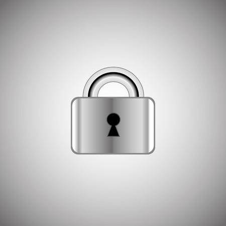 lock symbol: The lock icon. Lock symbol.