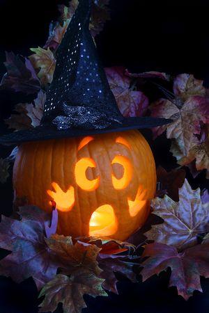 Jack o' Lantern Witch Stock Photo - 625038