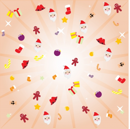 decoration vector background christmas Vector