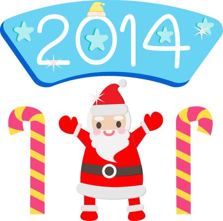 santa, cute, snowman, vector, christmas , xmas Vector