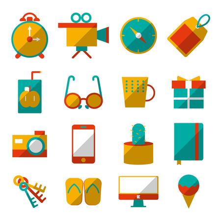 lifestyle icons set Illustration