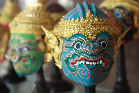 khon: Hua Khon Thai Traditional Mask