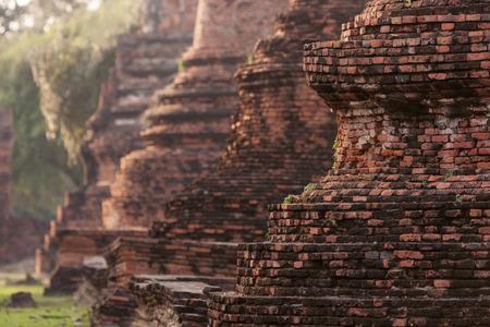 phra nakhon si ayutthaya: Ayutthaya Historical Park, Phra Nakhon Si Ayutthaya, Thailand.