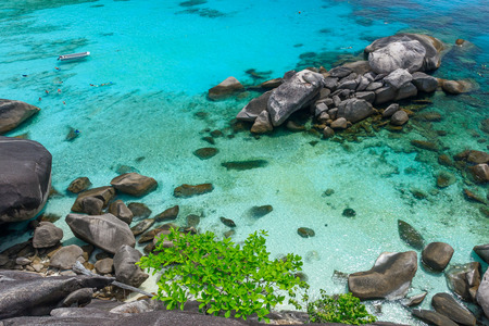 similan islands: Similan Islands, Andaman Sea, Thailand.